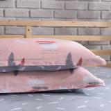 ホーム織物の綿のサテンファブリック羽毛布団カバーセット