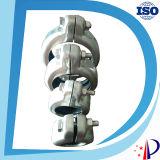 Conector hembra mecánico de goma para acoplamientos de tubería de acero inoxidable