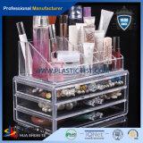 Organizador de maquiagem de acrílico personalizados /5 gaveta Organizador de maquiagem acrílico