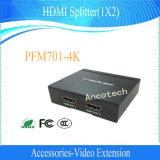 Splitter разрешения HDMI Dahua 4K 1X2 высокий (PFM701-4K)