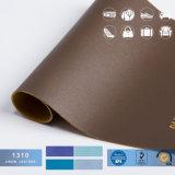 1.2mm het Waterdichte Kunstleder van pvc voor Zakken, het Synthetische Leer van de Handtas Pu van de Bagage