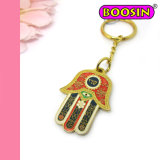 High quality Turkey Religious Hamsa Keychain / Main Initial Key Rings