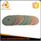 Diamond Polimento seca flexível de granito e mármore//concreto
