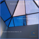 PVC/ Metal/Composite Polymer/PE Transparent/Opal/White/Blue/Green/Lake Blue/Bronze Polycarbonate Hollow Panel