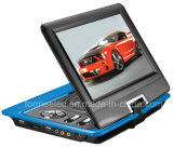 10.1pouces LCD Lecteur DVD portable avec jeux TV analogique
