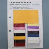Doppio cuoio di pattino impresso dell'unità di elaborazione del Faux della lucertola di colore grano