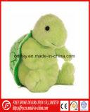 Giocattolo bello della tartaruga verde della peluche per natale