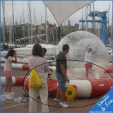 Sfera ambulante del giocattolo della sfera dell'acqua con TPU0.8mm e una chiusura lampo della Germania Tizip del diametro di 2m per 1-2 persone