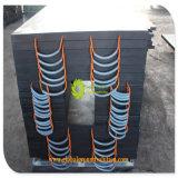 De hoge Zwarte Draagbare HDPE Quanlity Stootkussens van de Kraanbalk van de Goedkope Prijs van de Leverancier Shandong
