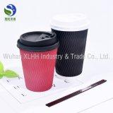 Новый дизайн колебания дважды одной стене одноразовые кофе чашку бумаги