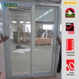 Usine en verre de porte de fournisseur de la Chine de patio d'or de PVC
