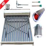 Calefator de água quente solar Non-Pressurized do aço inoxidável (sistema de aquecimento solar)