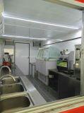 Piccolo rimorchio mobile personalizzato variopinto dell'alimento di Churros per alimenti a rapida preparazione