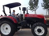 100HP 120HP tracteur agricole de l'Agriculture avec la ce pare-soleil