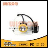 Indicatore luminoso superiore del casco di estrazione mineraria del LED con luminosità 25000lux
