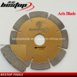 Arix segmentado Blade Diamante de pedra de granito Corte Seco/Úmido