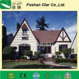 섬유 시멘트 판자벽 널 또는 칼슘 규산염 널 - 별장 색깔 판자벽
