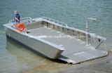 11m Desembarco superficial con casco de V