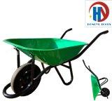 Metais Pesados Construção sólida Wheelbarrow