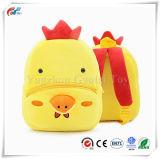 男の子および女の子の子供のための幼児の子供のランドセルの赤ん坊の動物園のプラシ天の鶏の動物の漫画の小型バックパック