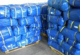Folha de tampa plástica azul de encerado da carga do rolo de encerado do PE da folha