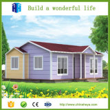 Chambre vivante préfabriquée par maison en acier confortable préfabriquée de chambre à coucher de la villa une