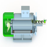 900kw 400rpm 낮은 Rpm 3 단계 AC 무브러시 발전기, 영구 자석 발전기, 고능률 다이너모, 자석 Aerogenerator