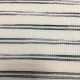 Tessuto del Knit della nervatura della banda tinto filato di R/T/Sp 235GSM 4X2 per usura delle ragazze
