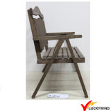 Country Style Antique Wooden Outdoor Garden Chair
