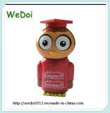 Neuer Plastic Owl Shape USB Pen Drive für Promotion (WY-PL101)