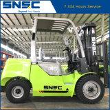 Carrello elevatore diesel/Montacargas di Snsc 3ton con il motore del Giappone
