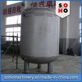 Fabricante do tanque do filtro de água do aço inoxidável