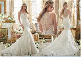 Neues Heiß-Verkaufendes wulstiges Hochzeits-Kleid der Braut-2016, angepasst