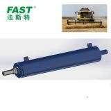 コンバイン収穫機AG装置のための水圧シリンダ