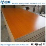 E0 клеевой древесины зерна меламина фанера для использования внутри помещений мебель