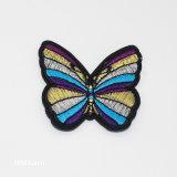 Лазерной резки клей тепла бабочка джинсы Label патч Hm091