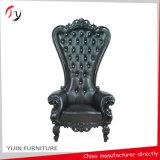 Manual clásico antiguo Decoración rey sofá silla trono (kc-04)