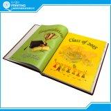 광택이 없는 아트지 두꺼운 표지의 책 색깔 주문 책 인쇄