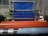 Telhas de plástico impermeável de plástico laranja cobrir oleados com preço satisfatório