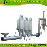 Secador de tubo HGJ-II, serradura, máquina de secagem