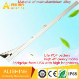 Fabrik-Zubehör-Qualität 50W alle in einem Solarlicht der straßen-LED