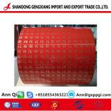 Madera de la bobina PPGI hojas/Prepainted bobinas de acero galvanizado/PPGI