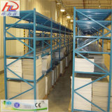 Shelving do armazenamento do armazém do metal com resistente