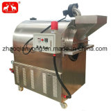De de Elektrische Sesam van het roestvrij staal/Machine van de Grill van de Sojaboon/Van de Cacaoboon
