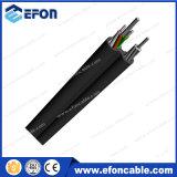 Câble fibre optique de support d'individu de porteur central de l'Aucun-Armure FRP (GYFTC8Y)