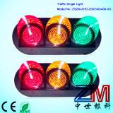 Luz de sinal elevada do tráfego do diodo emissor de luz do fluxo com lente desobstruída