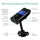 """[بلوتووث] [فم] جهاز إرسال لاسلكيّة راديو مهايئة طليق يد سيّارة عدة مع يثنّى [أوسب] مين و1.4 """" [ديسبلي سكرين] [أوإكس] [سوبّورتبل]"""