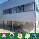 環境に優しい鉄骨構造の倉庫の研修会かプレハブの家