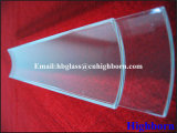 Disques en verre de quartz de silice d'arc d'espace libre de résistance de Corrosison