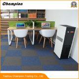 商業使用モジュラーPPのカーペットのタイル50cm*50cmのPVC裏付けが付いている高品質のカーペットのタイルを支持するPVC